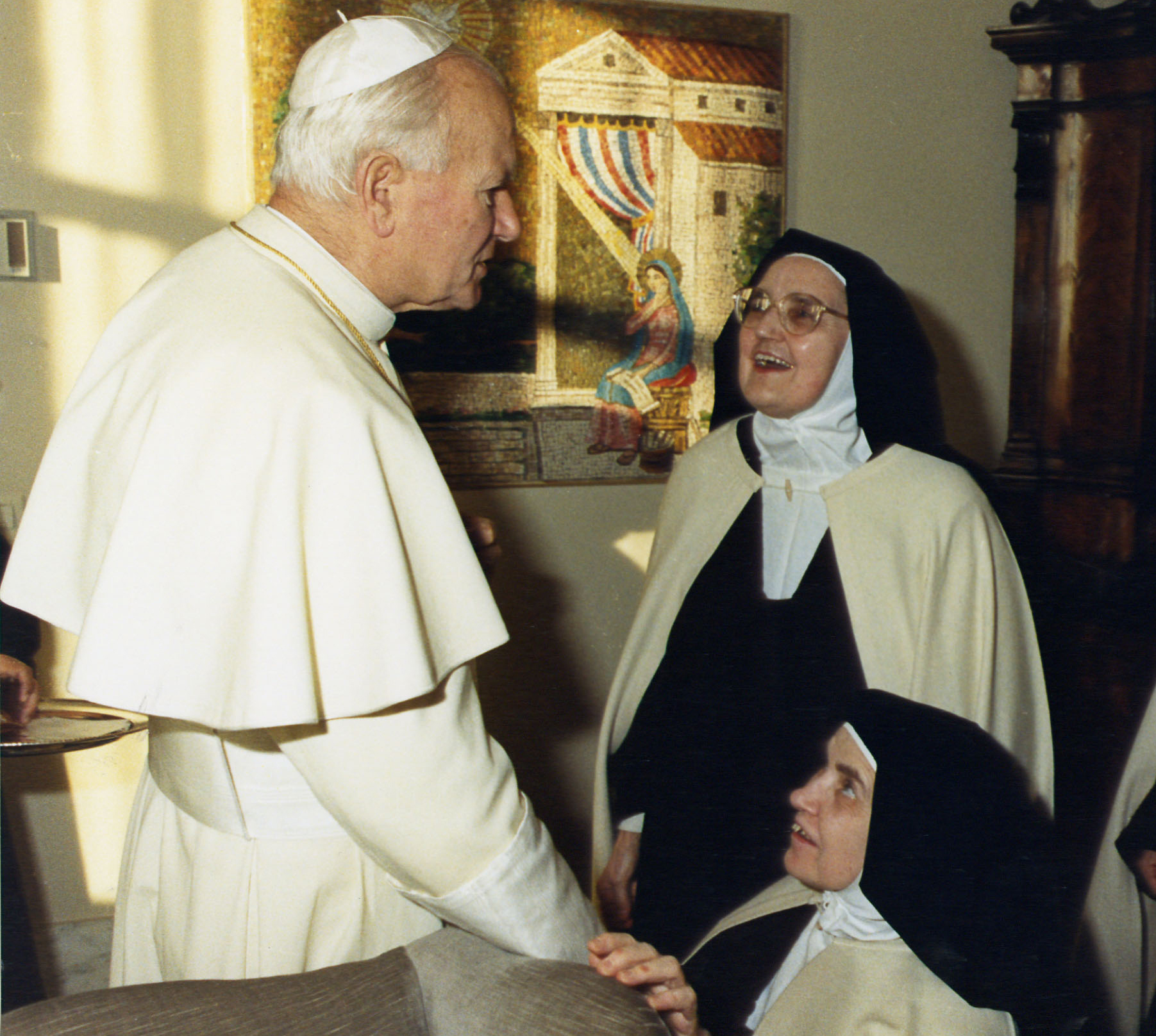 Audiencia privada con S.S. Juan Pablo II